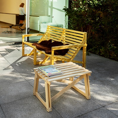 Weltevree-Patio-2-3-seater-yellow-outdoor-setting-